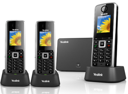 Configuring our Yealink VoIP phones was no more difficult than setting up a home Wifi router.