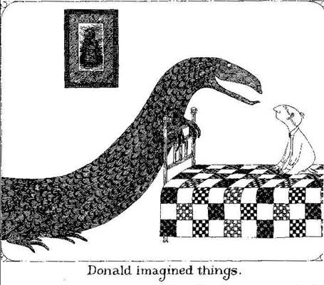 Donald Imagined Things, Edward Gorey