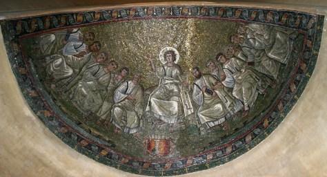 Capp. S. Aquilino in S. Lorenzo Maggiore, Milano fine IVsec.
