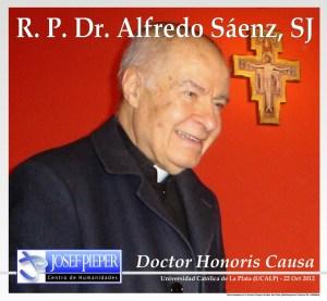 Padre Alfredo Sáenz Doctor Honoris Causa