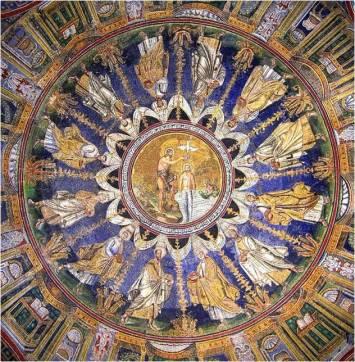 Baptisterio arriano de la ciudad de Ravenna.