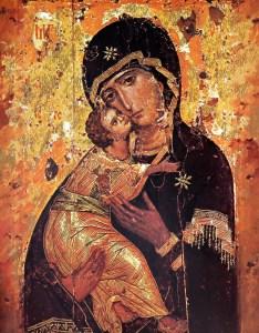Virgen de la Ternura, Eleusa.