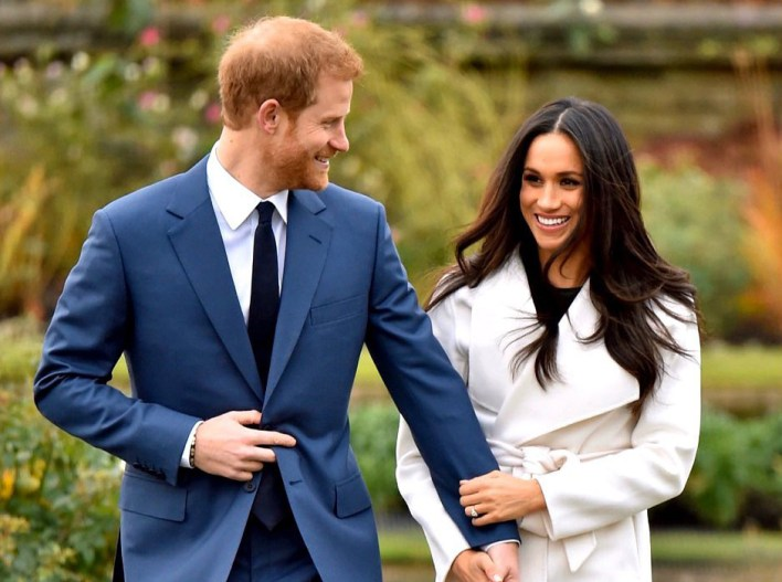 Harry y Meghan Markle