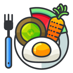 Meal icon Free Filled Outline Icons