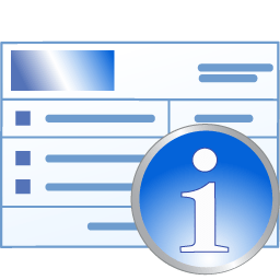 Medical invoice information Icon | Medical Iconset | Aha-Soft