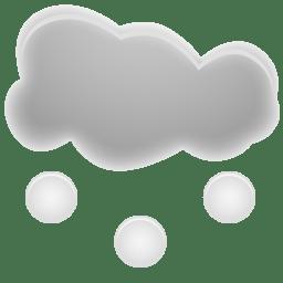 hail icon weather iconset custom icon design