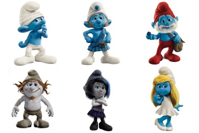 3d Smurfette Wallpapers The Smurfs 2 Movie Iconset 9 Icons Designbolts