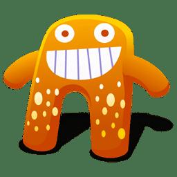 Creature Orange Icon Creature Cutes Iconset Fast Icon