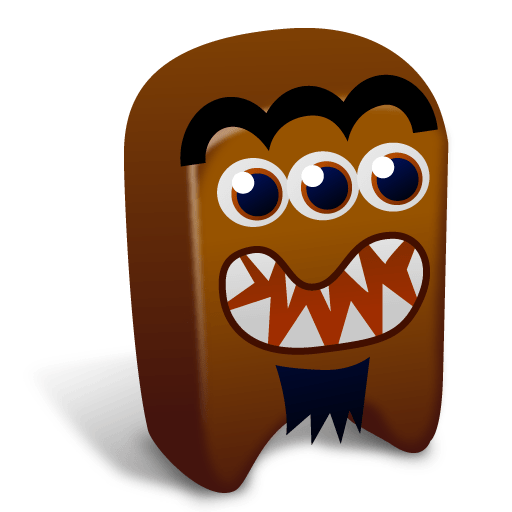 Brown creature Icon Creatures Iconset Fast Icon Design