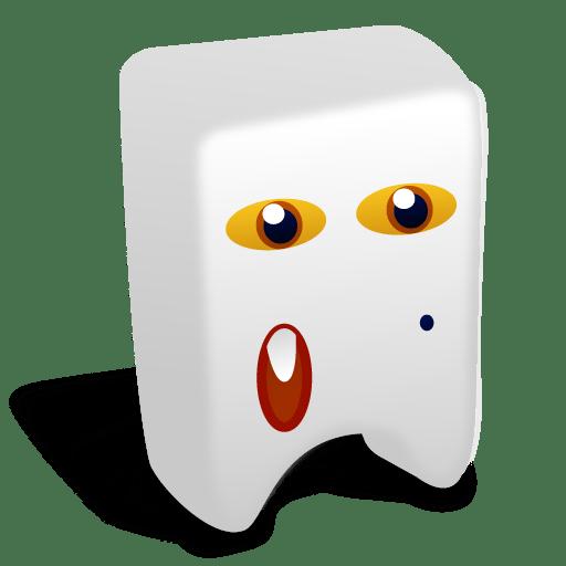 White creature Icon Creatures Iconset Fast Icon Design