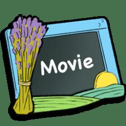 icon movie icons slate cartoon transparent frame ico fixicon file type dj icns veryicon fordesigner location