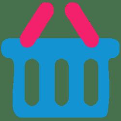 icon cart shopping bag flat icons mart shoping basket ico myiconfinder data softicons file