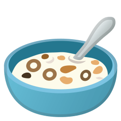cereal emoji bowl icon spoon food transparent drink google icons android noto pie sizes pngfind file