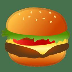 hamburger icon emoji food google drink icons noto file