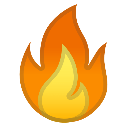 Fire Icon  Noto Emoji Travel  Places Iconset  Google