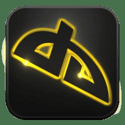 Deviantart Icon Neon Glow Social Iconset GraphicsVibe