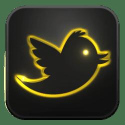 neon icon glow gold social icons golden iconbug pacta clara fufa ico graphics follow admin internet web gmail road format