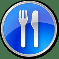 restaurant icon icons interest points land