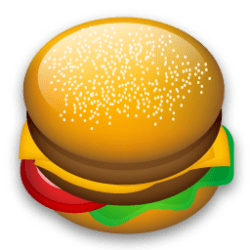 hamburger icon food icons burger yummy ico clipart mcdonald file iconshock pack recipe icns vector drinks mcdonalds commons iconbug veryicon