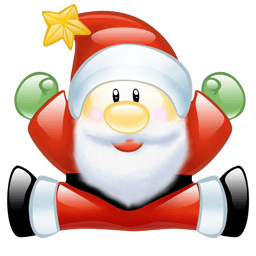 Image result for santa icon