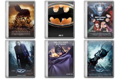 Batman Movie DVD Iconset 14 icons  Manueek