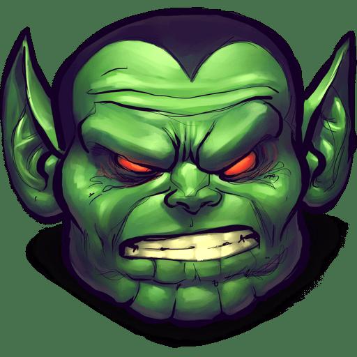 Comics Ignorant Creature Icon UltraBuuf Iconset Mattahan