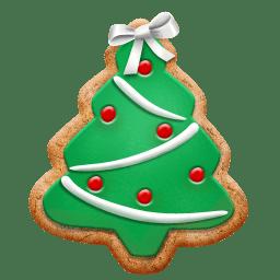 Christmas Cookie Tree Icon Christmas Cookie Iconset