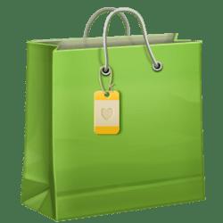 shopping bag icon icons