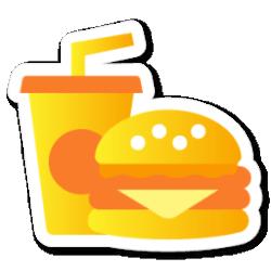 icon food fast icons mayor swarm sonya app ico iconset sticker