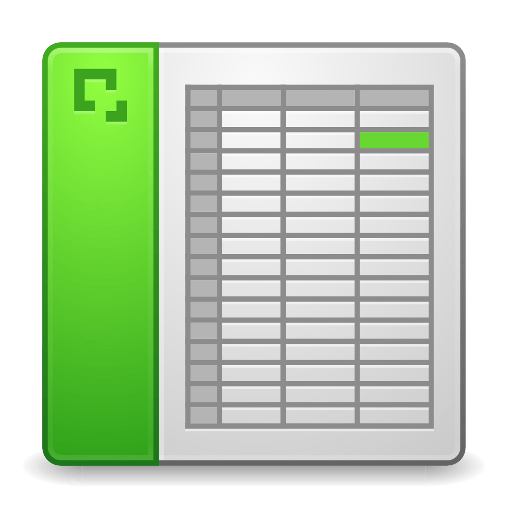 Mimes Application Vnd Excel Icon