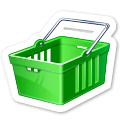 shopping icon cart magnets icons ico object visualpharm veryicon
