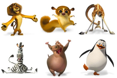 Cute Cartoon Penguins Wallpaper Tv Amp Movie Icons