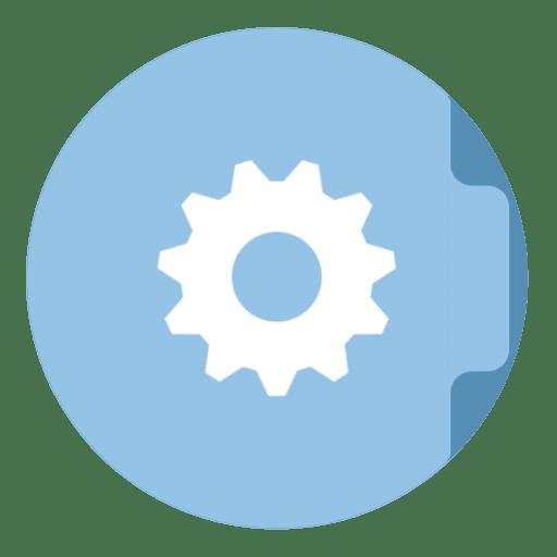 Folder Smart Icon  The Circle Iconset Xenatt