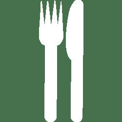 White restaurant 4 icon Free white restaurant icons