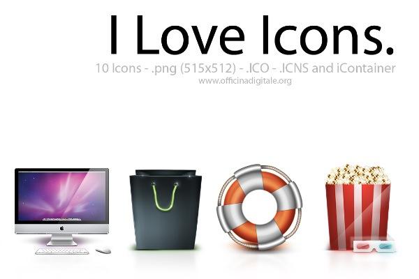 I Love Icons