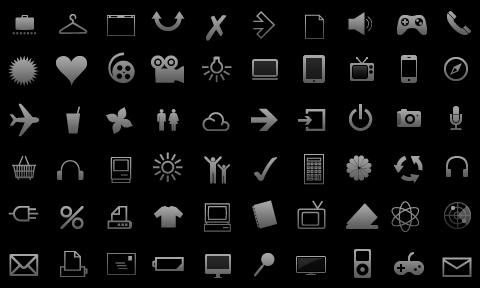 Glyph icon logo
