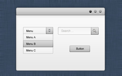 Black-and-White-GUI-Kit