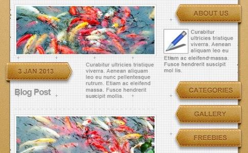 Blog Web Theme
