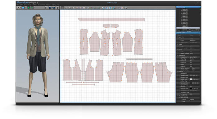 Amazing 3d Graphic Software For Fashion Designers Design