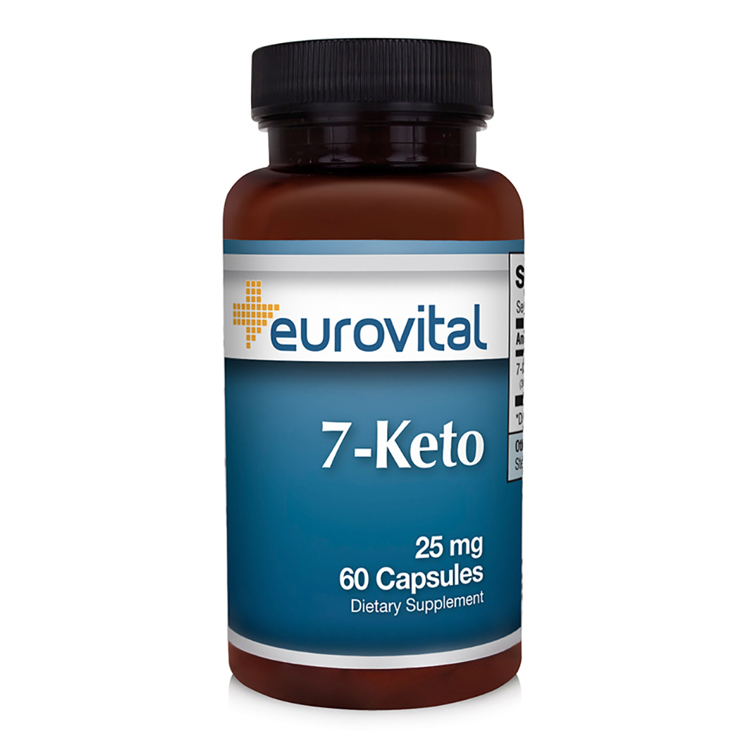 Buy 7-Keto DHEA Online   EuroVital   Powerful and Effective