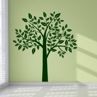 Full Leafy Tree Wall Art Stickers Wall Decal Transfers