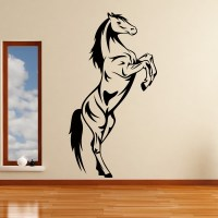 Horse Rearing Animals Wall Art Stickers Decal Transfers | eBay