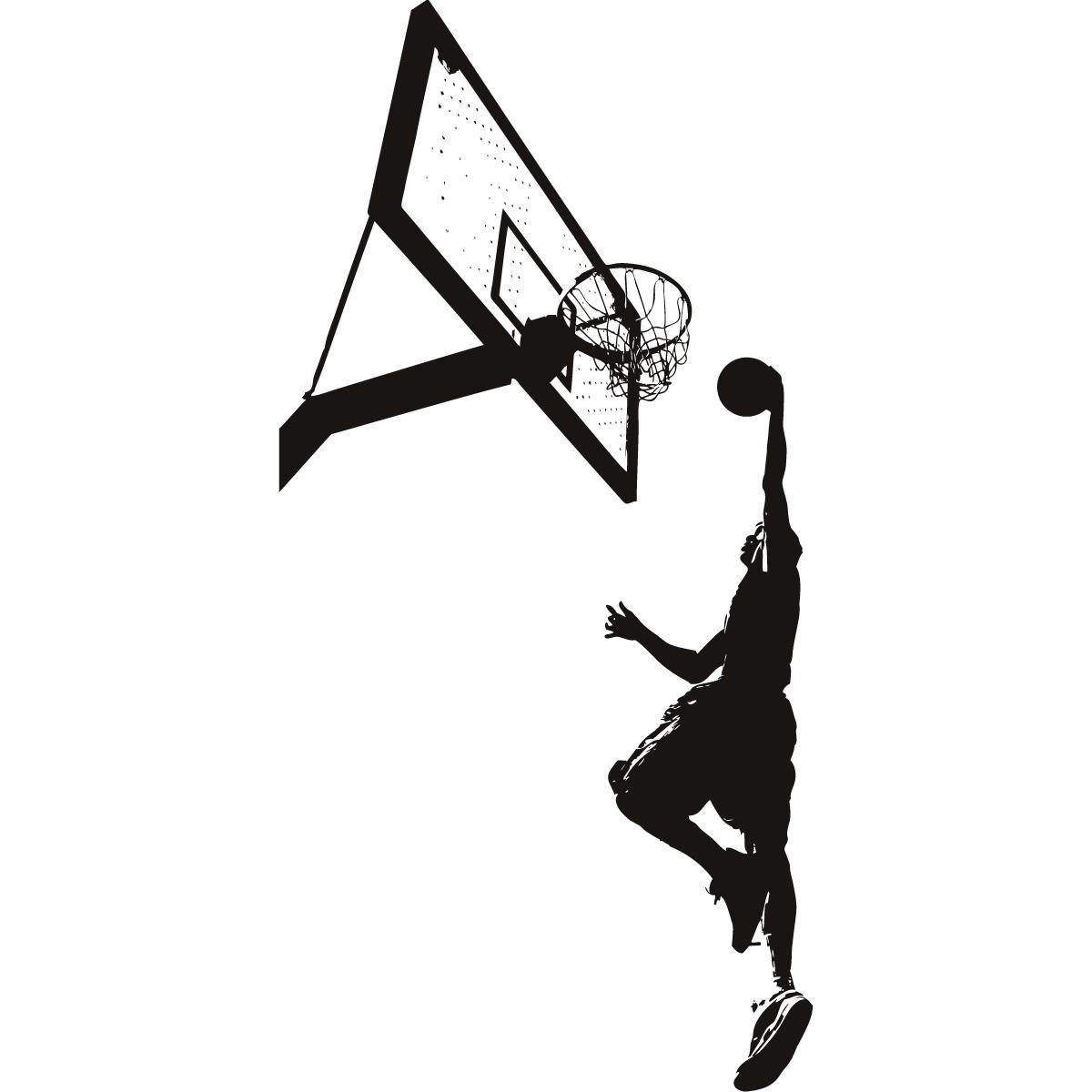 Basketball Slam Dunk Sports And Hobbies Wall Art Decal