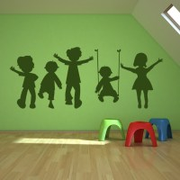 children wall decals 2017 - Grasscloth Wallpaper