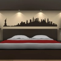 New York City Skyline Wall Stickers America USA Places