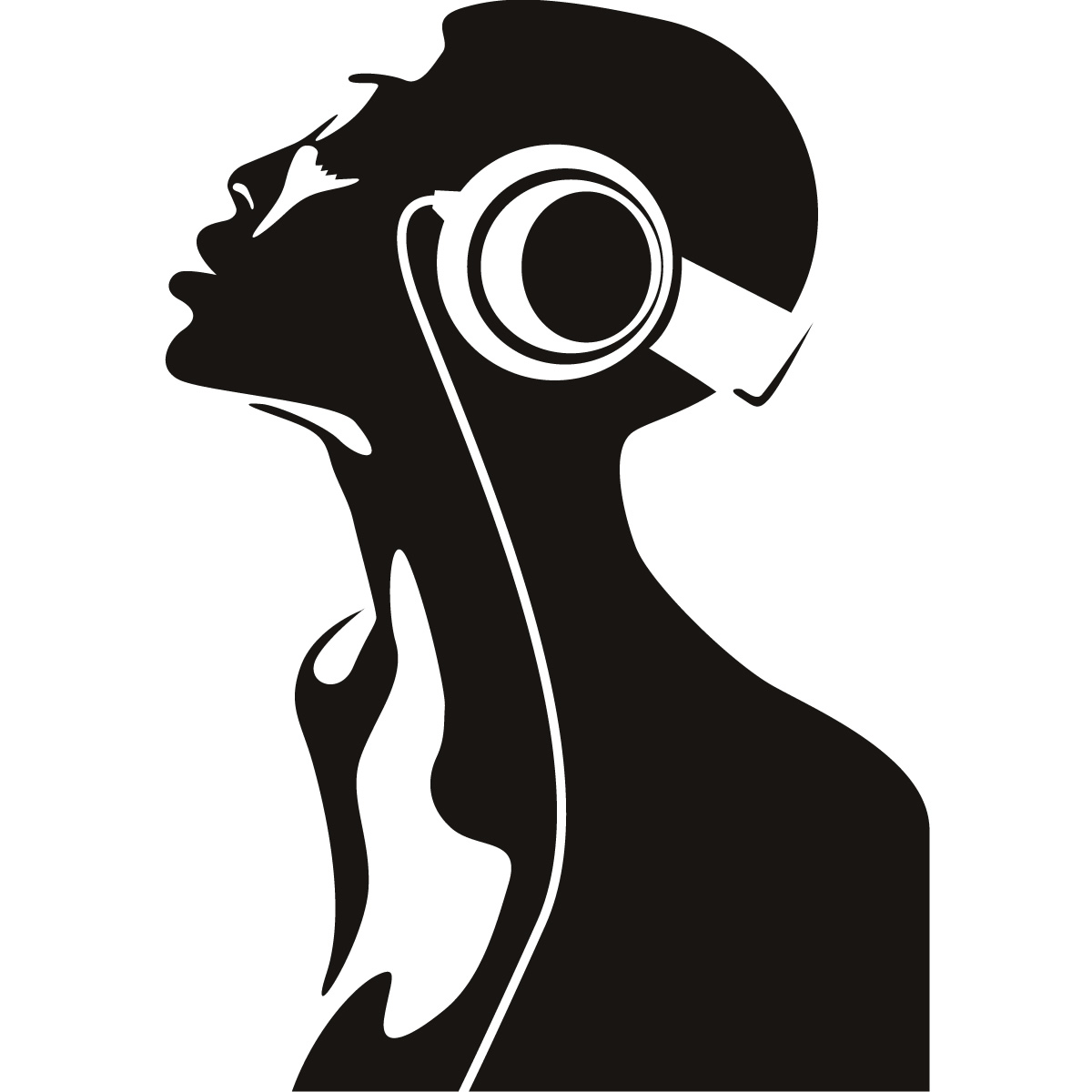 Cool Dj Music Wall Art Stickers Wall Decals Transfers  Ebay
