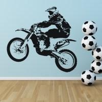Dirt Bike Transport Sports and Hobbies Wall Art Sticker ...