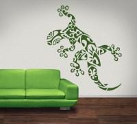 Lizard Gecko Jungle Animals Wall Stickers Wall Art Decals ...