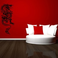 Oriental Dragon Wall Stickers Wall Art Decal Transfers