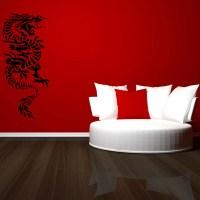 Oriental Dragon Wall Stickers Wall Art Decal Transfers | eBay